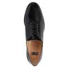 Dámské kožené polobotky bata, černá, 528-6631 - 19