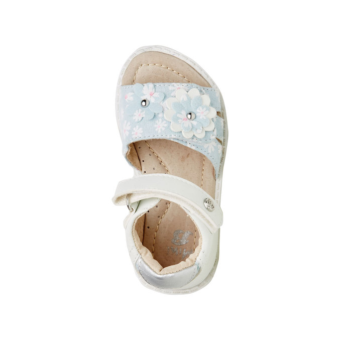 Dětské sandály mini-b, bílá, 169-1100 - 19