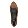 Dámské lodičky na širším podpatku bata, hnědá, 626-4602 - 19