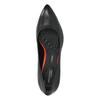 Černé kožené lodičky rockport, černá, 724-6110 - 19