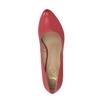 Červené kožené lodičky insolia, červená, 724-5633 - 19