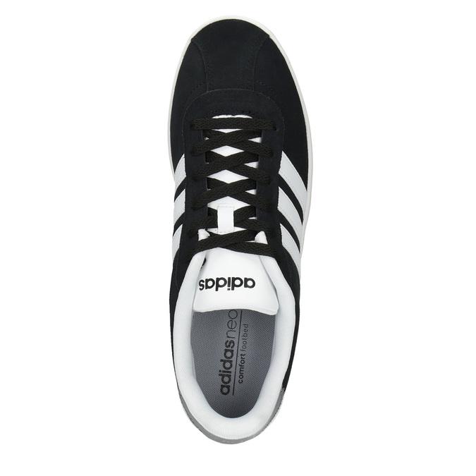 Pánské kožené tenisky adidas, černá, 803-6132 - 19