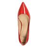 Dámské kožené lodičky insolia, červená, 728-5620 - 19