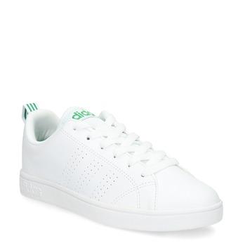 Bílé tenisky se zelenými detaily adidas, bílá, 501-1300 - 13
