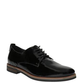 Dámské Derby polobotky bata, černá, 528-6600 - 13