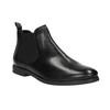 Kožená kotníčková obuv Chelsea bata, černá, 594-6604 - 13