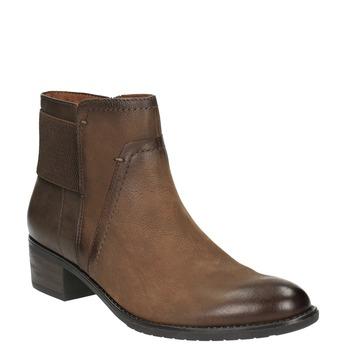 Dámská kotníčková obuv bata, hnědá, 696-4605 - 13