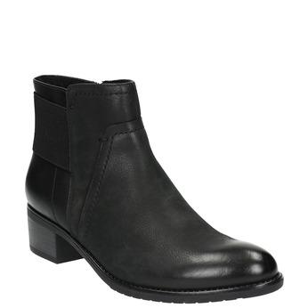 Dámská kotníčková obuv bata, černá, 696-6605 - 13