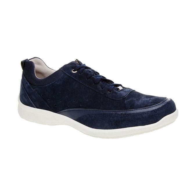 Ležérní kožené tenisky comfit, modrá, 843-9643 - 13