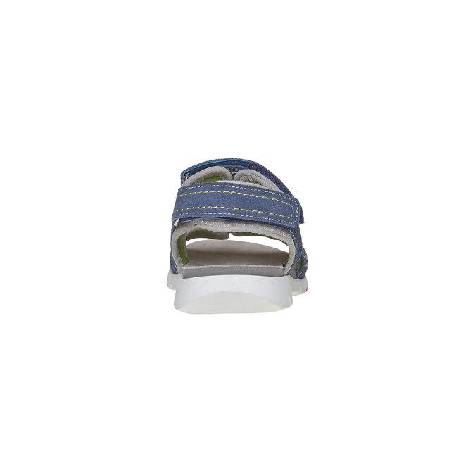 Dětské sandály flexible, modrá, 363-9188 - 17