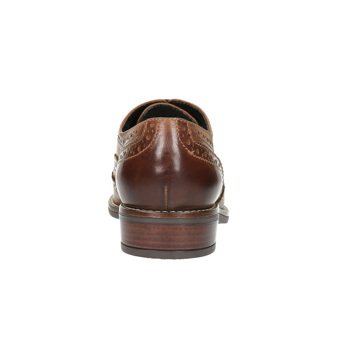 Dámské polobotky bata, hnědá, 524-4600 - 17