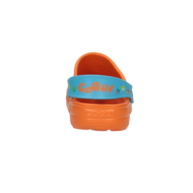 Dětské sandály s žabičkou oranžové coqui, oranžová, 301-5602 - 17