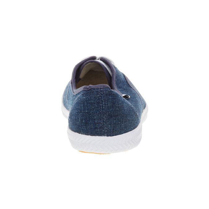 Denimové tenisky tomy-takkies, modrá, 519-9111 - 17