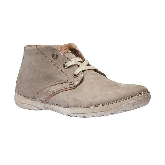 Kožená kotníčková obuv weinbrenner, béžová, 896-2442 - 13