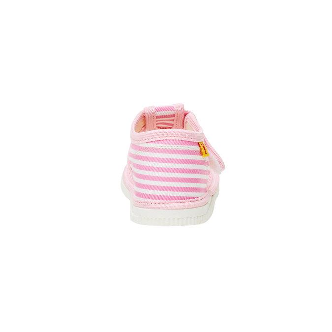 Dětská domácí obuv bata, růžová, 179-5102 - 17