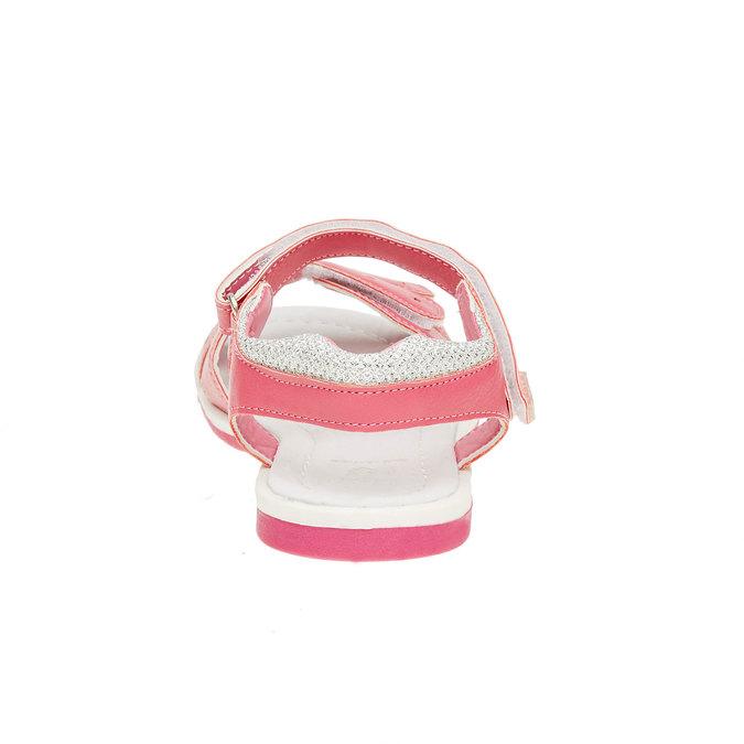 Dívčí sandály na suché zipy mini-b, růžová, 361-5180 - 17