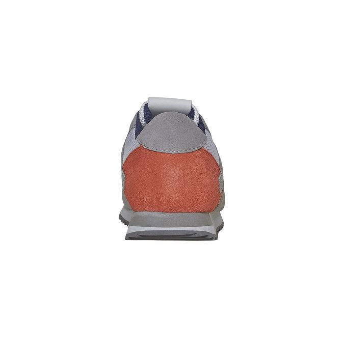 Pánské ležérní tenisky gas, šedá, 843-2590 - 17