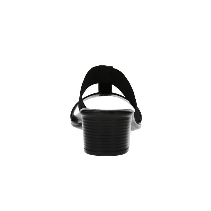 Dámské sandály na nízkém podpatku bata, černá, 671-6835 - 17