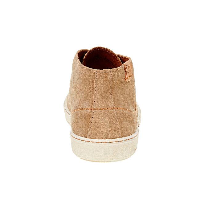 Pánská kožená obuv weinbrenner, hnědá, 843-8661 - 17