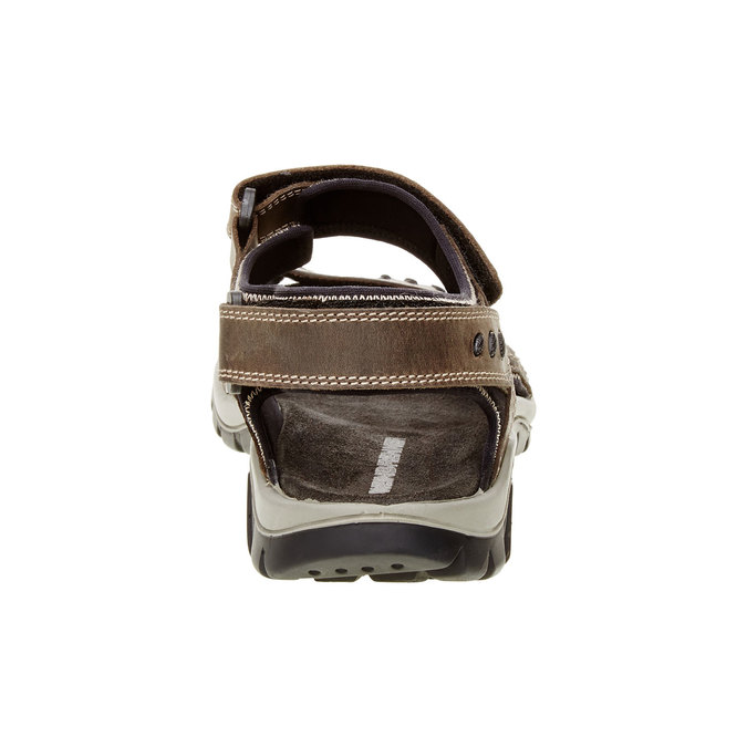 Pánské kožené sandály weinbrenner, hnědá, 866-2105 - 17