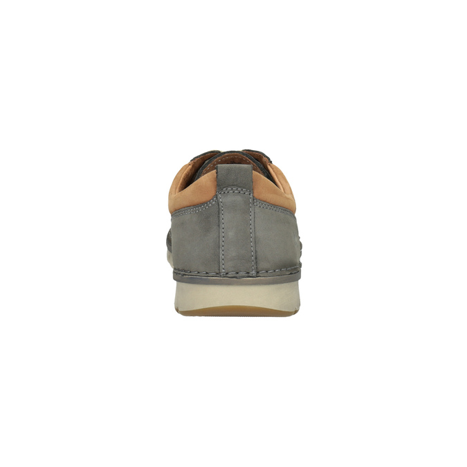 Ležérní kožené polobotky weinbrenner, šedá, 846-2436 - 17