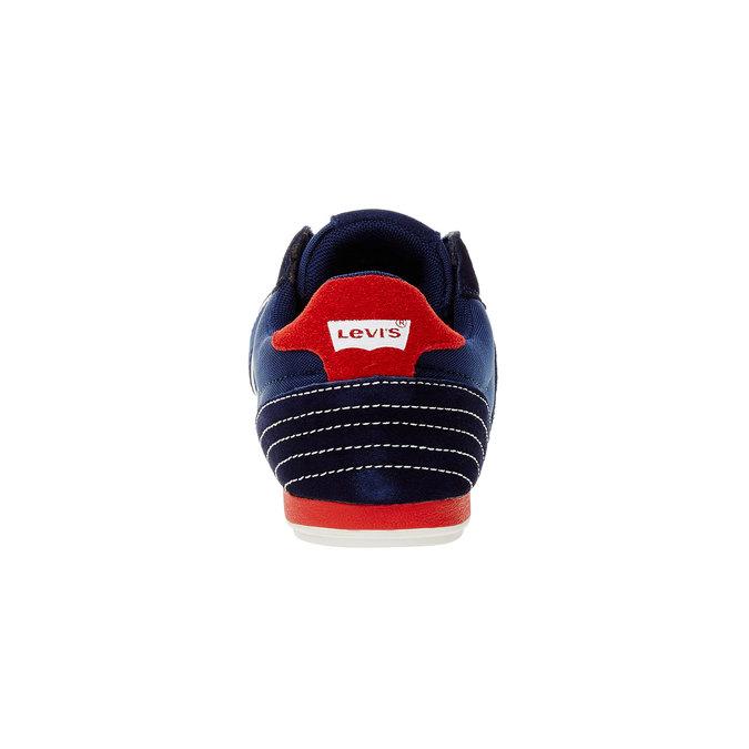 Ležérní pánské tenisky levis, modrá, 841-9198 - 17