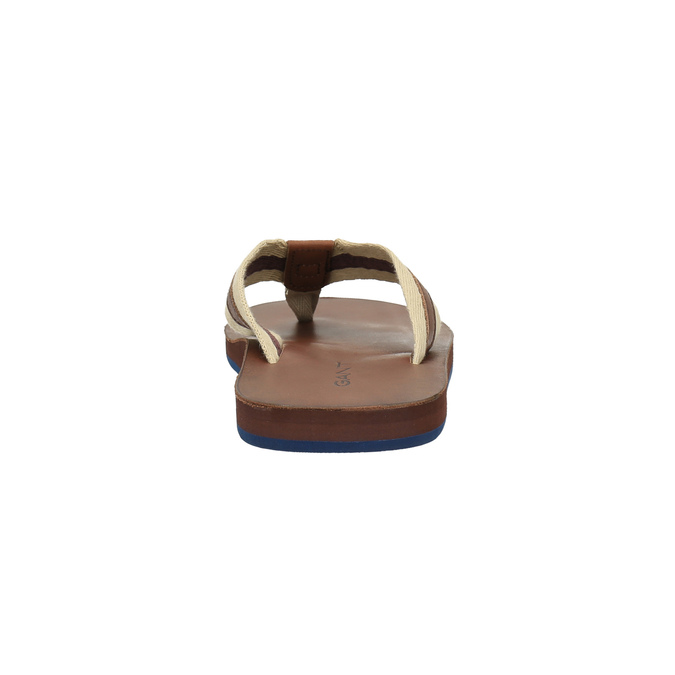 Pánské žabky gant, hnědá, 864-4011 - 17