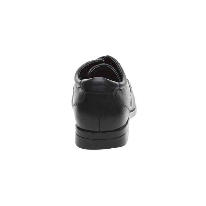 Pánské kožené polobotky rockport, černá, 824-6376 - 17