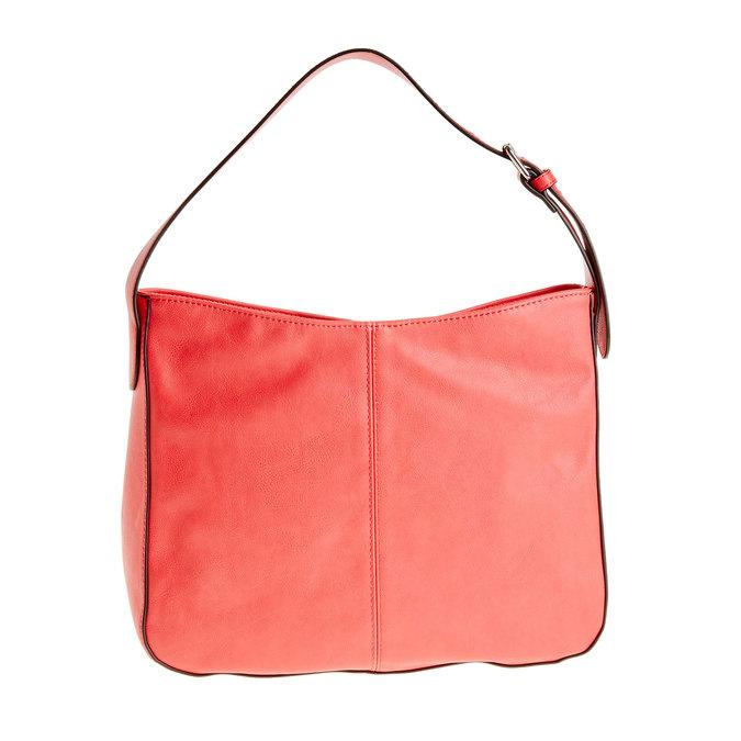 Červená kabelka s nastavitelným uchem bata, červená, 961-5792 - 26