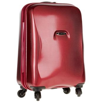 Skořepinový kufr na kolečkách carlton, červená, 960-5100 - 13