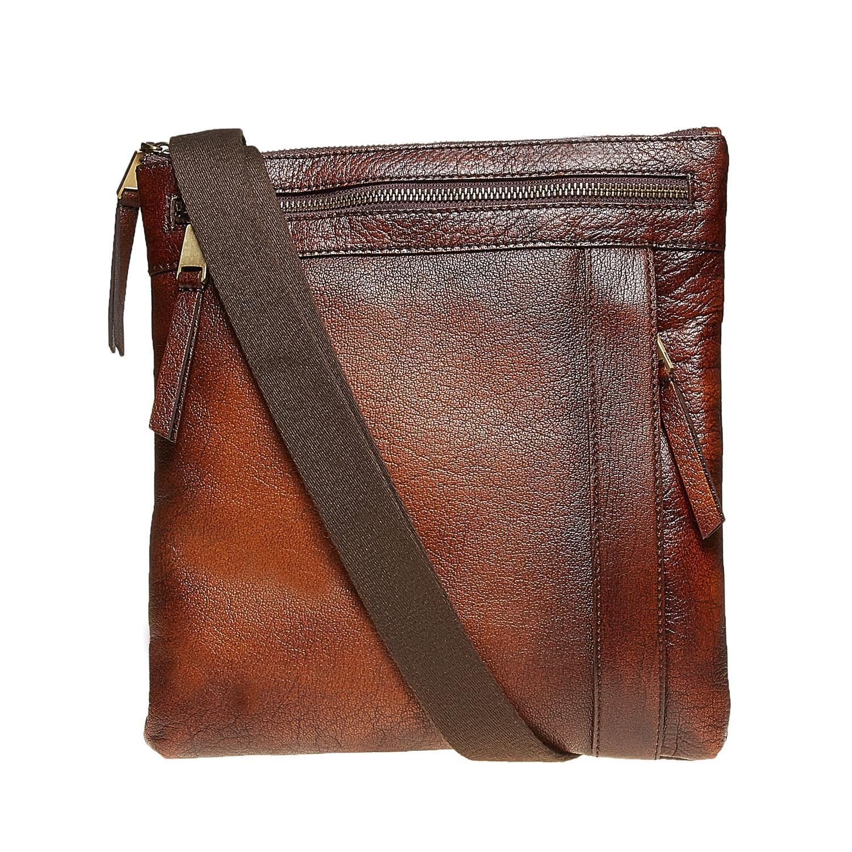 Baťa Pánská kožená Crossbody taška - Pánské tašky  7c29073f2ca