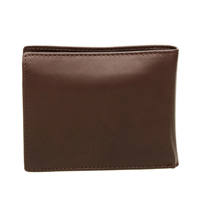 Pánská kožená peněženka bata, hnědá, 944-4124 - 26