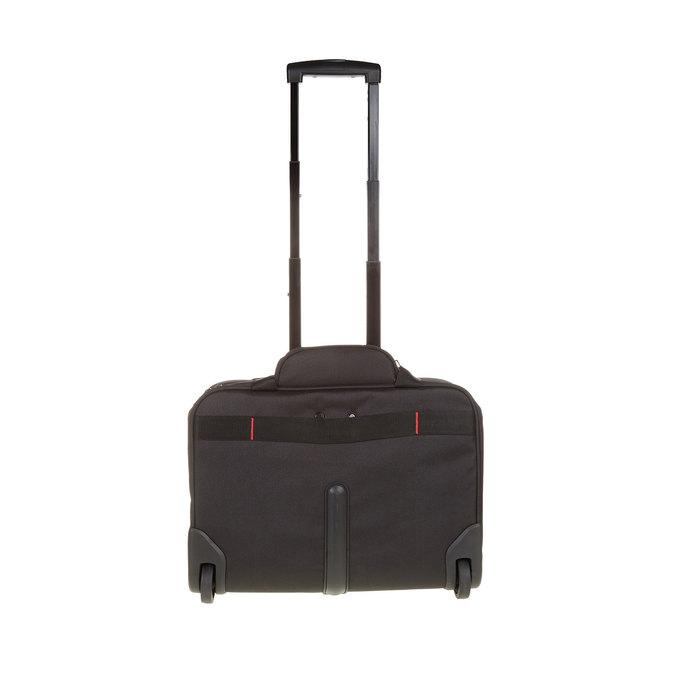 Cestovní brašna na notebook s kolečky samsonite, černá, 969-6396 - 26