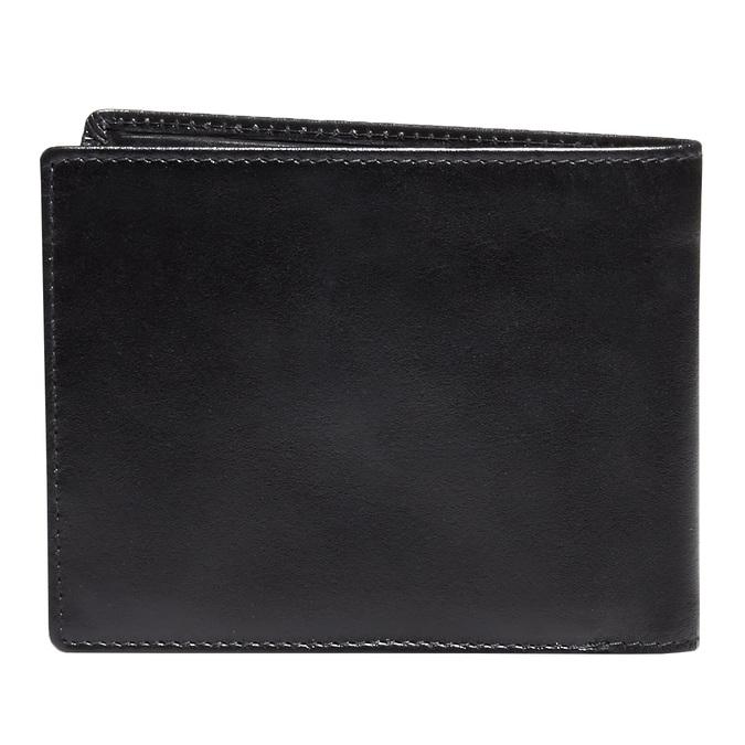 Kožená pánská peněženka bata, černá, 944-6122 - 26