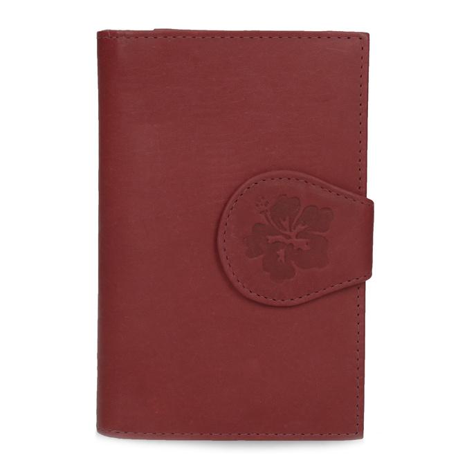 Dámská kožená peněženka bata, červená, 944-5155 - 26