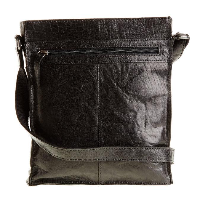 Pánská kožená  Crossbody taška bata, černá, 964-6141 - 26
