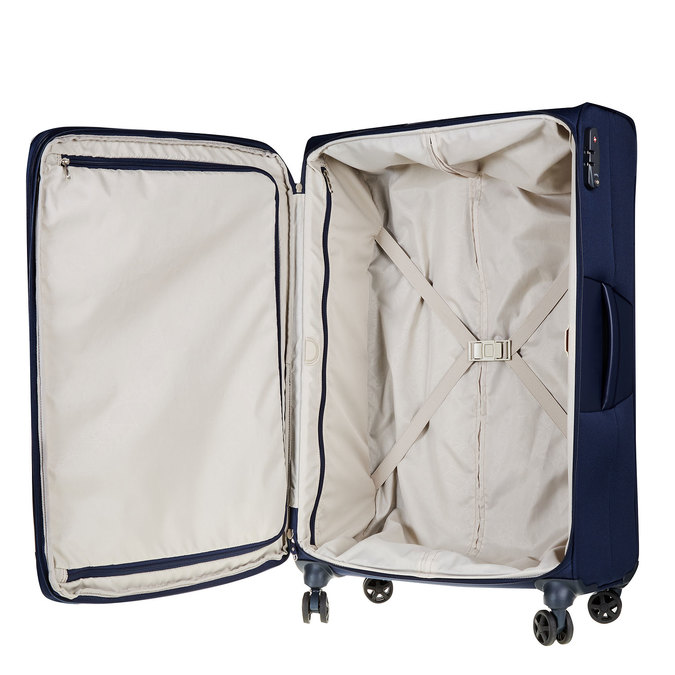 Textilní cestovní kufr na kolečkách samsonite, modrá, 969-9343 - 15