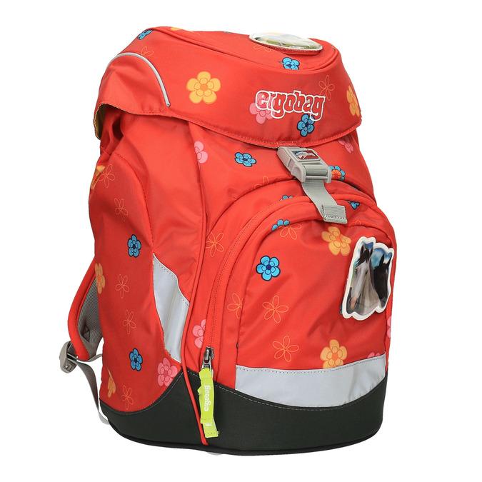 Dívčí školní batoh ergobag, červená, 969-5096 - 13