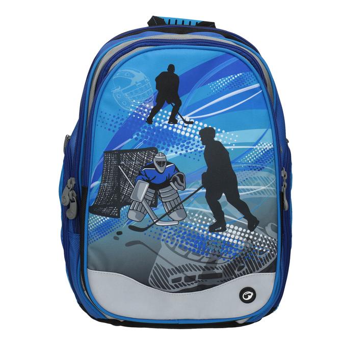 Chlapecký školní batoh bagmaster, modrá, 969-9608 - 19
