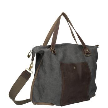 Velká taška s popruhem weinbrenner, šedá, 969-2620 - 13