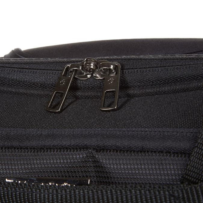 Cestovní brašna na notebook s kolečky samsonite, černá, 969-6396 - 17