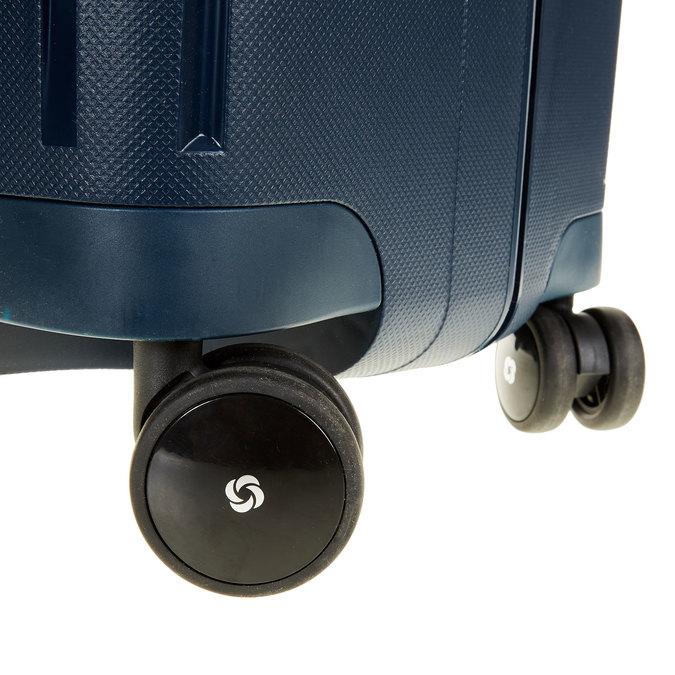 Kvalitní skořepinový kufr samsonite, modrá, 960-9322 - 19