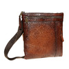 Pánská kožená Crossbody taška bata, hnědá, 964-4138 - 13