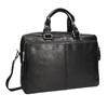 Kožená taška bata, černá, 964-6106 - 13