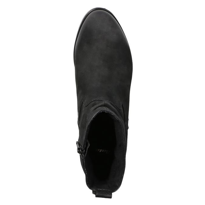 Dámská kotníčková obuv bata, černá, 796-6600 - 19