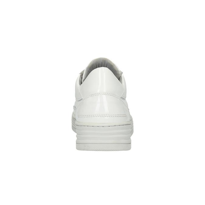 Bílé kožené tenisky bata, bílá, 528-1632 - 17