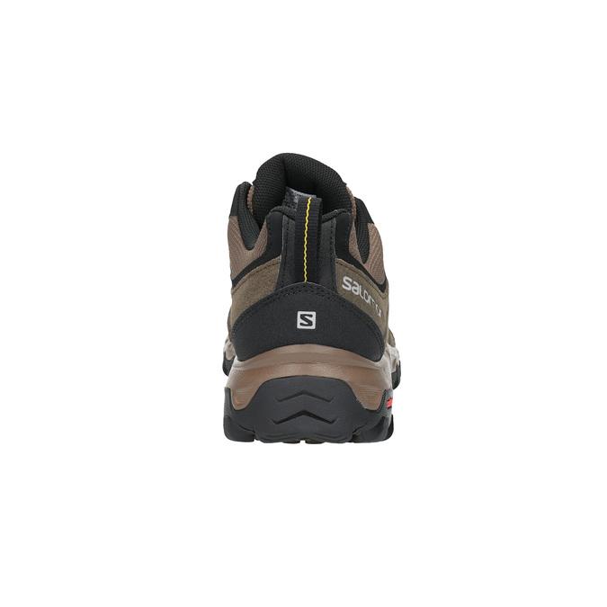 Pánská kožená obuv v Outdoor stylu salomon, hnědá, 843-4050 - 17