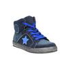 Dětské kotníčkové tenisky modré mini-b, modrá, 411-9600 - 13