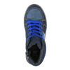 Dětské kotníčkové tenisky modré mini-b, modrá, 411-9600 - 19