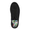 Černé tenisky se širokou podešví bata, černá, 529-6630 - 19
